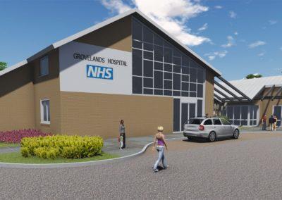 Grovelands Centre Extension, NELFT NHS Foundation Trust