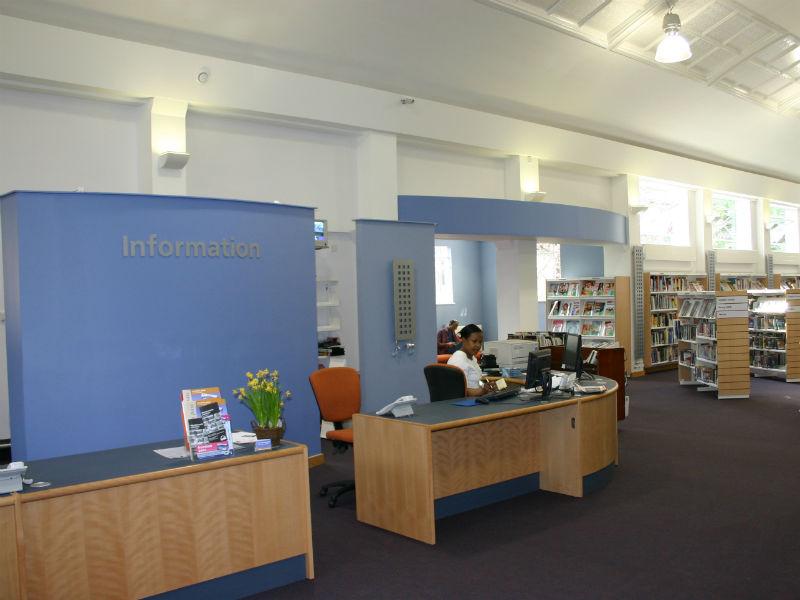 Earlsfield Library, London SW18