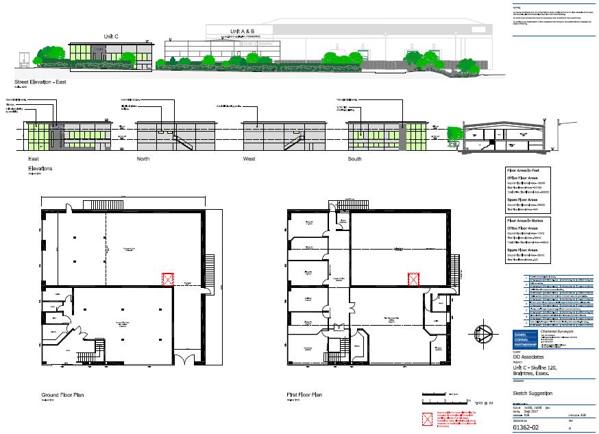 New office development in Braintree