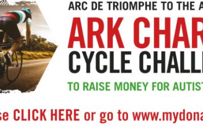 Arc to Ark – Simon is back on his bike!
