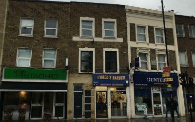 Surrey Quays – Mansard Roof Extension