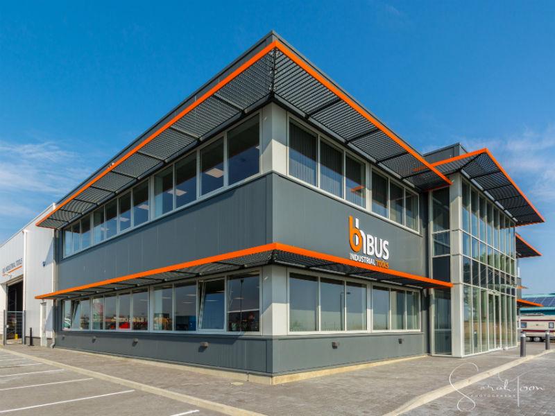 Modular Office & Warehouse Facility