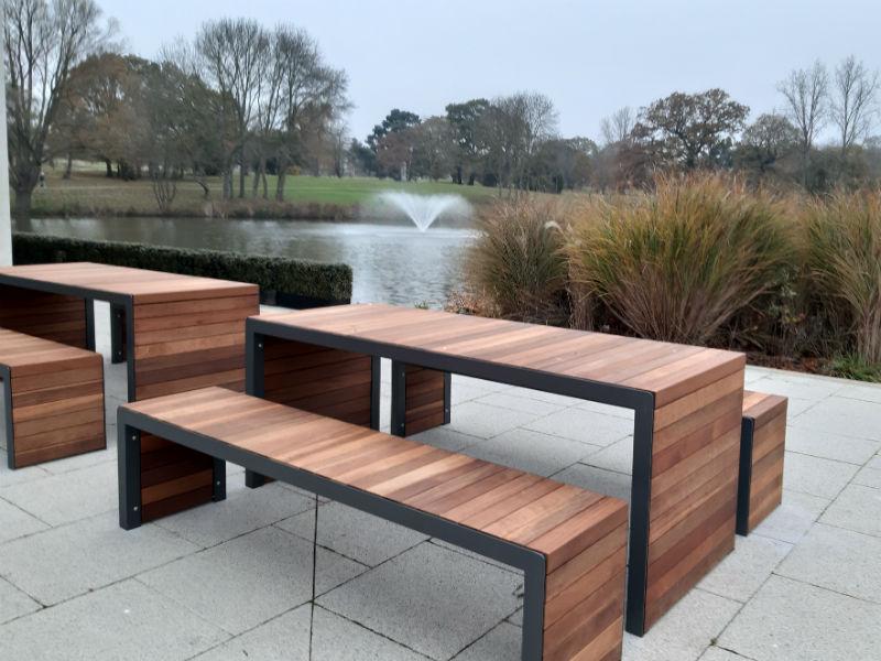 New Outside Seating & Lighting, University of Essex